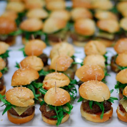 BBQ catering finger food