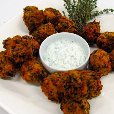 Spinach Pakoras - Finger Food by Devour It Catering Melbourne