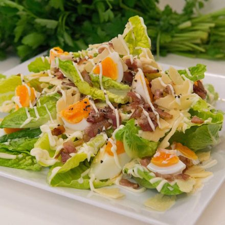 caesar salad by Devour It Catering Melbourne