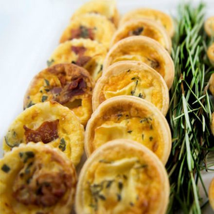 catering tartlets by Devour It Catering Melbourne