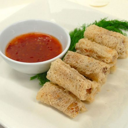Seafood Spring Rolls for people with Food Allergy by Devour It Catering Melbourne