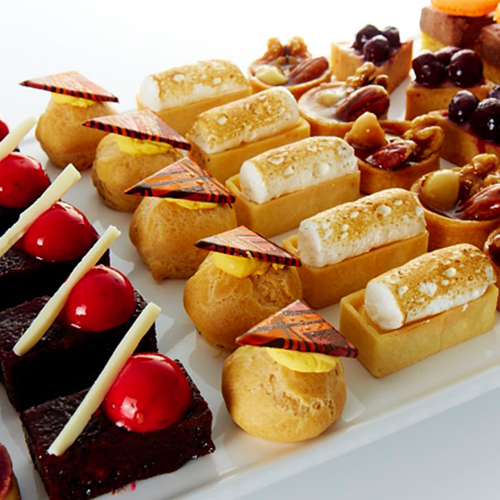 Dessert canapes by Devour It Catering Melbourne