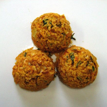 Baked Sweet Potato and Chickpea Bites by Devour It Catering Melbourne