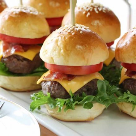 Vegetable and cheeseburgers